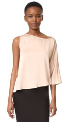 Zero Maria Cornejo Circle Top Shiny Blush