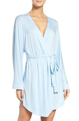 Honeydew Intimates Women's Jersey Robe Topaz