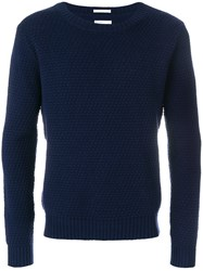 Gant Rugger The Tuck Knit Jumper Blue