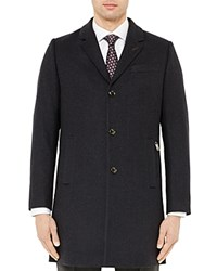 Ted Baker Mini Design Overcoat Navy
