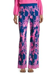 Lilly Pulitzer Seaside Beach Pants Indigo Blue