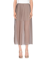 Minimal Skirts Long Skirts Women Dove Grey