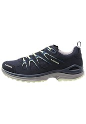 Lowa Innox Evo Gtx Hiking Shoes Navy Mint Dark Blue
