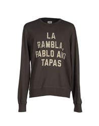Sun 68 Topwear Sweatshirts Men Lead