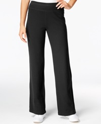 Style And Co. Sport Pull On Sweat Pants Only At Macy's Deep Black