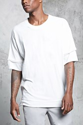Forever 21 Bleach Dye Double Layered Tee White Onerror Javascript Fnremovedom 'Colorid_03