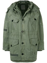 Zadig And Voltaire Kool Grunge Parka Green