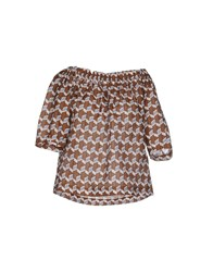 Alysi Shirts Blouses Women Brown