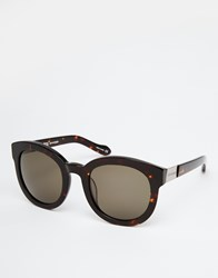 Vivienne Westwood Anglomania Round Sunglasses Brown