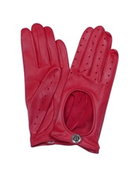 Bentley Dents Pittards Cabretta Red Driving Ladies Gloves