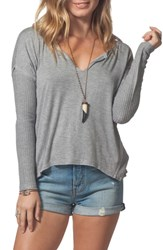 Rip Curl Essentials Thermal Top Heather Grey