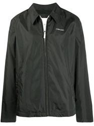 Calvin Klein Coach Jacket Black