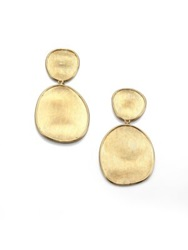 Marco Bicego Lunaria 18K Yellow Gold Double Drop Earrings