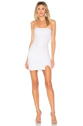 By The Way Kiera Strapless Dress White