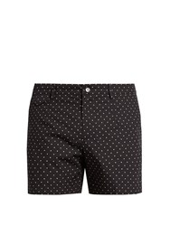 Dolce And Gabbana Polka Dot Print Swim Shorts Navy