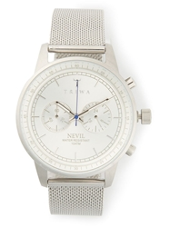 Triwa 'Stirling Steel Nevil' Watch Metallic