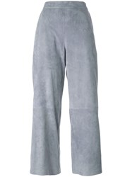 Desa 1972 Panelled Cropped Trousers Grey