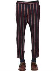 Vivienne Westwood Striped Stretch Cotton Pants