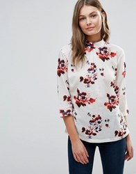 B.Young Haia Blouse 80636 Poppy Red