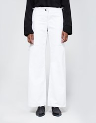 Assembly New York Simple Pant White Denim
