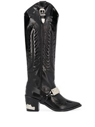 Toga Pulla Knee Length Cowboy Boots 60