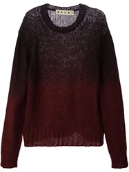 Marni Crew Neck Sweater Red