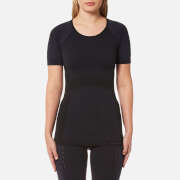 Falke Ergonomic Sport System Women's Short Sleeve Performance T Shirt Platinum Black