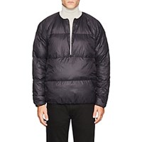 Goldwin Down Half Zip Jacket Black