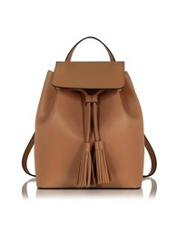 Le Parmentier Cognac Leather Backpack