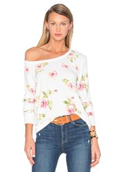 Chaser English Rose Sweater Ivory
