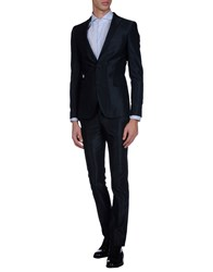 Asfalto Suits And Jackets Suits Men Dark Blue