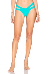 Kopper And Zink Mia Bikini Bottom Turquoise