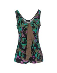 Diana Gallesi Topwear Tops Women Green