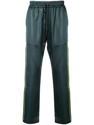 Cmmn Swdn Buck Piping Track Pants Grey