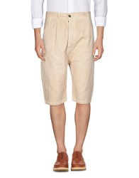 Nicolas And Mark 3 4 Length Shorts Beige