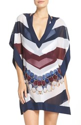 Ted Baker Women's London Rowing Stripe Cover Up Tunic Navy