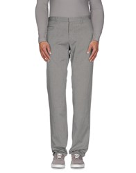 Incotex Red Trousers Casual Trousers Men Grey