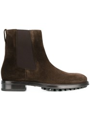 Tom Ford Elasticated Panel Boots Brown
