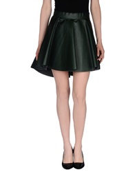 Luxury Fashion Mini Skirts Black