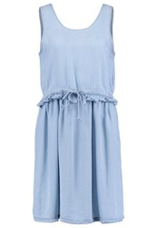 Noisy May Nmendi Denim Dress Light Blue Light Blue Denim