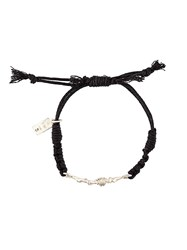 1 100 Twisted Wire Bead Bracelet Black