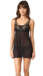 Hanky Panky Rose D'or Chemise Black Gold