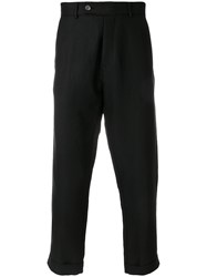 Societe Anonyme 60 Cropped Trousers Black
