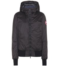 Canada Goose Dore Down Filled Hoodie Black