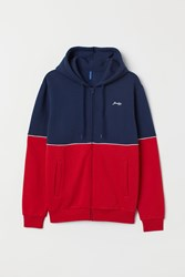 Handm H M Hooded Jacket Red