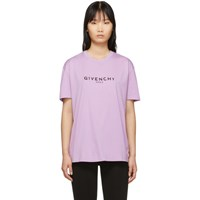 Givenchy Purple Vintage T Shirt
