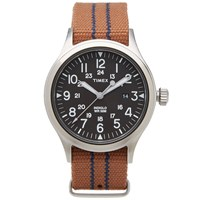 Timex Archive Scout Brook Watch Brown