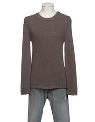 Bafy Crewneck Sweaters Dark Brown