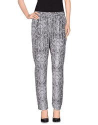 Equipment Femme Casual Pants Grey