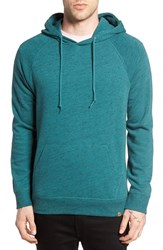 Obey Men's Monument Hoodie Heather Spruce